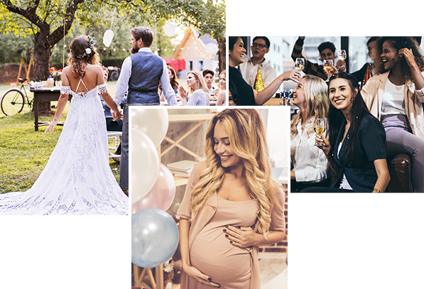 Wedding, Baby Shower & Corperate Party